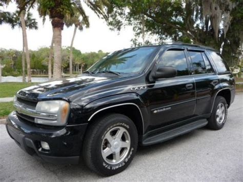 2003 chevy trailblazer lt sell used 2003 chevrolet trailblazer lt in 7028 us hwy 19