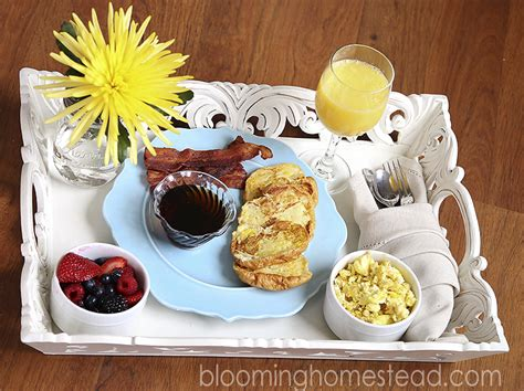 mother s day breakfast in bed breakfast in bed mother s day blooming homestead