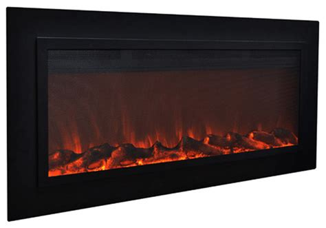 Touchstone Fireplace by Touchstone Touchstone Sideline Steel 50 Quot Wide Wall Mounted