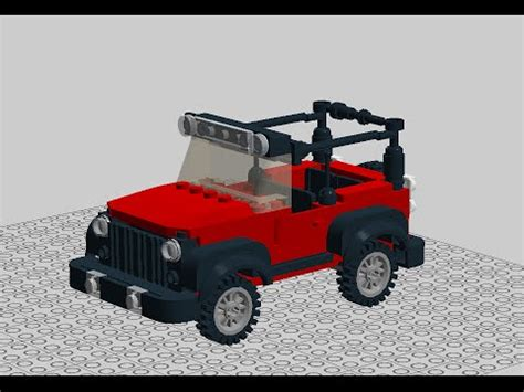 How To Build A Jeep Lego Jeep Wrangler Build In Ldd