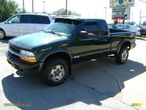 Chevrolet S10 Zr2 2002 Chevrolet S10 Zr2 Extended Cab 4x4 In Forest Green