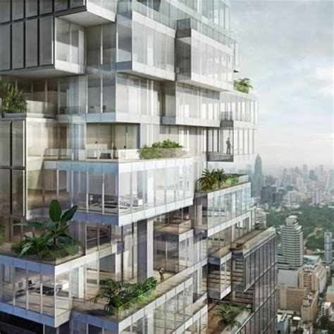 Metropolitan Condo Floor Plan Mahanakhon By Oma Dezeen