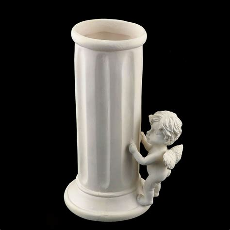Column Vase by Ifavor123 Beautiful Cherub Column Vase 9 99