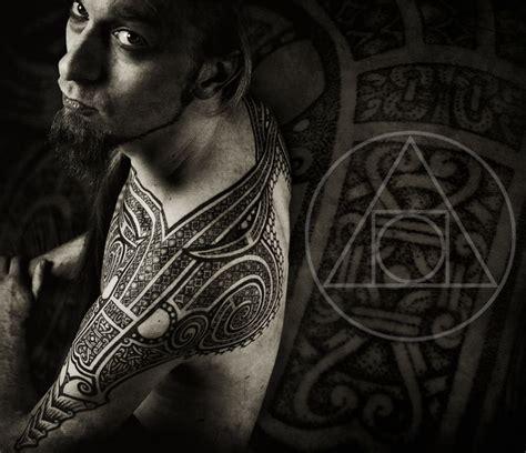 geometric viking tattoo 148 best blackhand nomad peter madsen images on