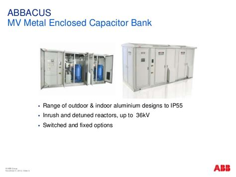 mv capacitor bank abb abb the importance of power quality in mining by rob symonds
