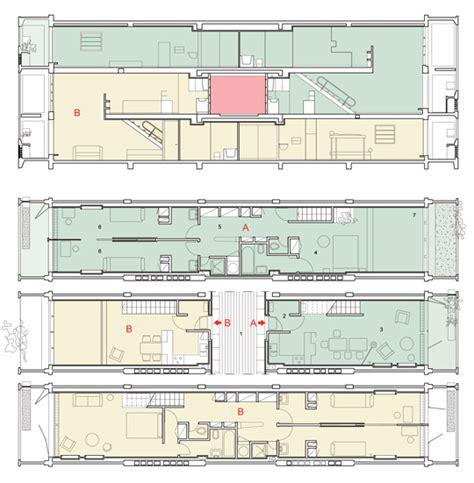 unite d habitation section معماري2015