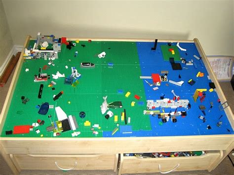 lego table for junk in their trunk lego table