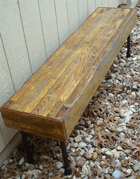 homemade wood bench 1000 images about homemade bench seats on pinterest