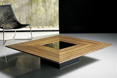 Tables Basses De Salon En Verre by Table Basse De Salon En Verre Et Bois Id 233 Es De