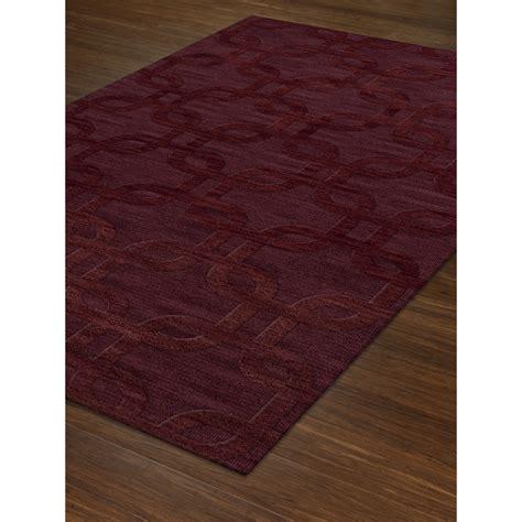 dover rug company dalyn rug co dover burgundy area rug allmodern