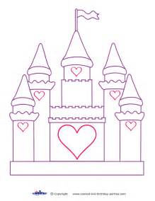 printable castle decoration coolest free printables