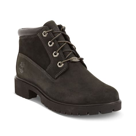 timberland timberland womens shoes nellie booties in black