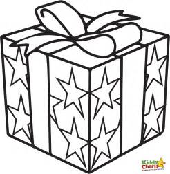 Gift Box Coloring Pages  RedCabWorcester sketch template
