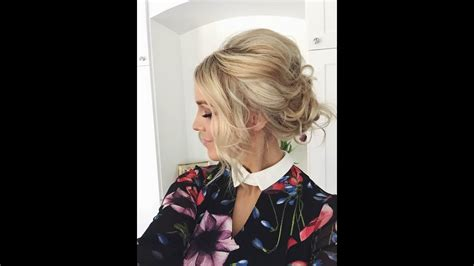 how to updo prom wedding