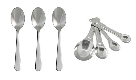 How Many Teaspoons In A Table Spoon by Teaspoons Tablespoons Dessertspoons Erren S Kitchen