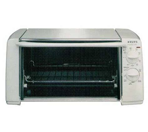Toaster Broiler Krups Quot Prochef Ultra Quot Toaster Broiler Oven White Qvc