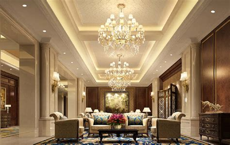 design interior villa european palace style villa interior design download 3d
