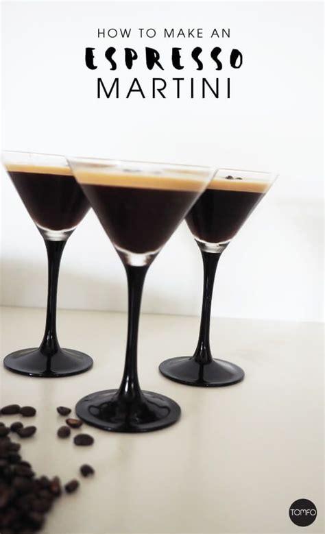 espresso martini recipe without espresso