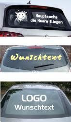 Autoaufkleber Heckscheibe Selbst Gestalten by Heckscheibenaufkleber