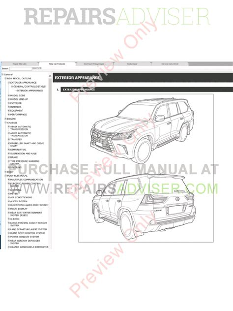 auto repair manual free download 2005 lexus lx security system lexus lx450d lx570 pdf manual 09 2015 download