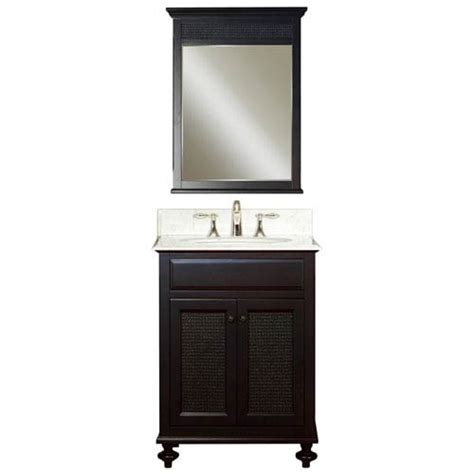 24 Bathroom Vanity Combo Espresso Single Sink 24 Inch Bathroom Vanity Combo Water Creation Vanities