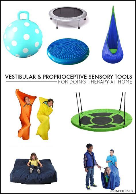 vestibular toys must have vestibular proprioceptive sensory therapy