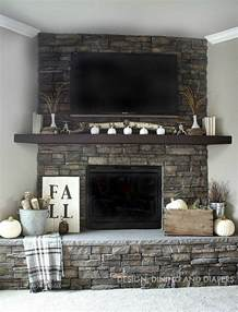 neutral fall mantel design dining diapers