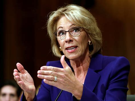 betsy decos betsy devos is not my secretary of education