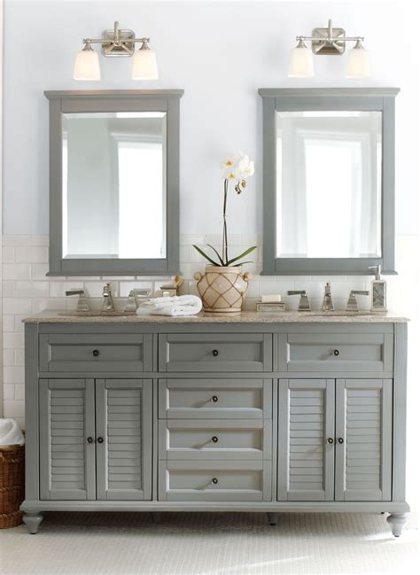 Bathroom With Two Vanities by 25 Best Ideas About Light Grey Bathrooms On