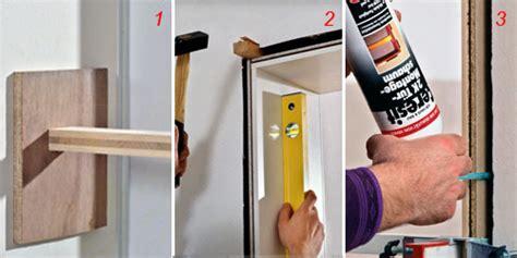 come si monta una porta interna come montare una porta bricoportale fai da te e bricolage