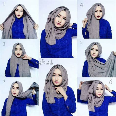 hijab tutorial hijabi pinterest tutorials hijabs and abayas classic hijab tutorial with volume hijab fashion inspiration