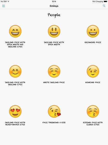Smiley Sticker Meaning by Smiley Emoticons And Their Meanings Smiley Emoticons And