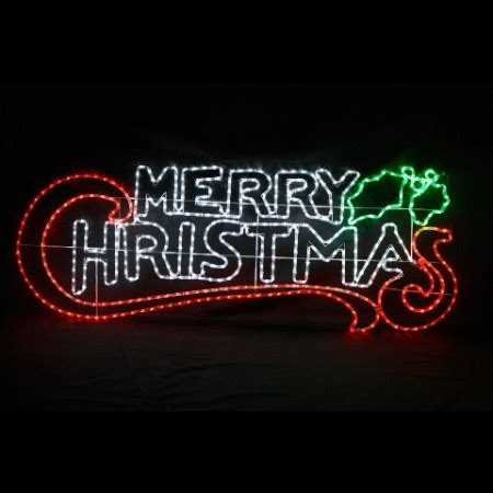 led merry light sign outdoor led lights motifs and silhouettes