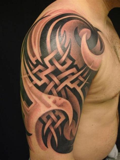 tribal tattoo armband large tribal armband on half sleeve tats