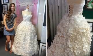 haircut deals orpington orpington student creates a stunning wedding dress for