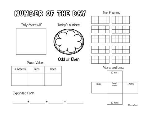 number of the day worksheet number of the day worksheet worksheets for school