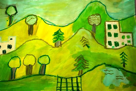 picasso nature paintings painted paper picasso s landscape