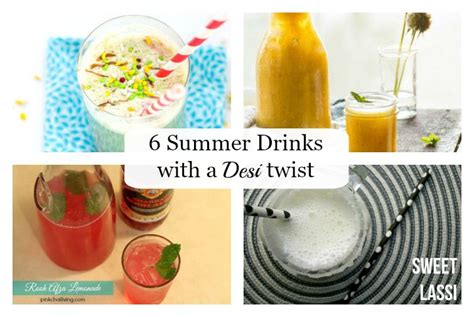 Summer Reading Cocktail With A Twist by 6 Summer Drinks With A Twist