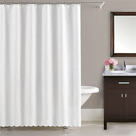 54 inch shower curtains buy lamont home majestic 54 inch x 78 inch stall shower