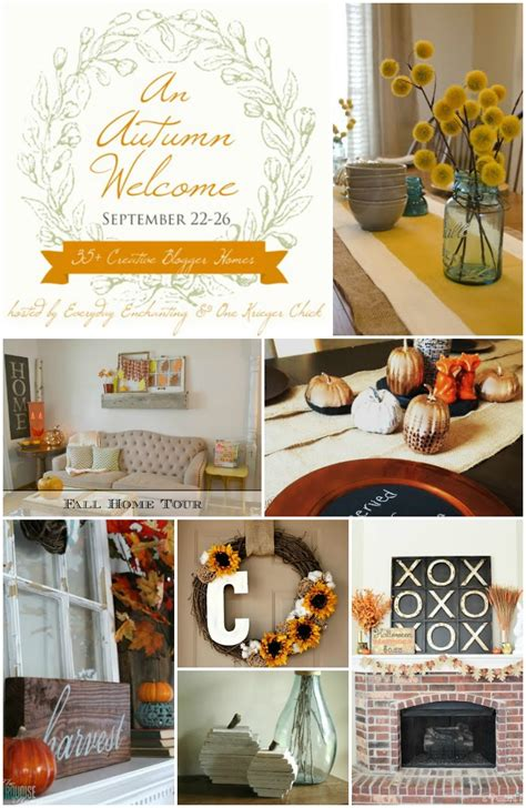 fall home tour coastal style