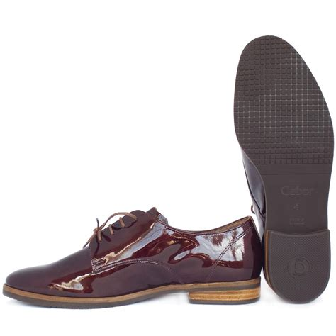 gabor gondola s smart casual lace up shoes in