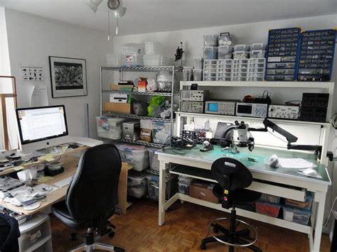 clean diy electronics lab       lab
