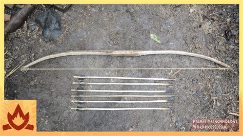 primitive technology bow  arrow youtube