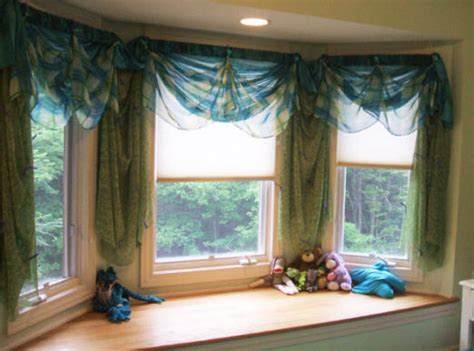 how to drape a bay window stunning concept of drapes for bay window homesfeed