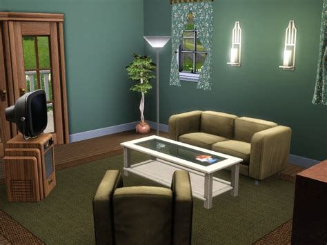 Sims 2 Living Room by Mod The Sims 2 Br Country Home