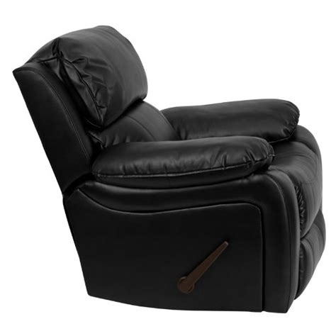 best recliner chairs review flash furniture men da3439 91 leather rocker recliner