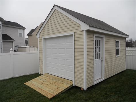 Storage Shed Garage Door by Tifany Guide 12x16 Shed Plans With Garage Door