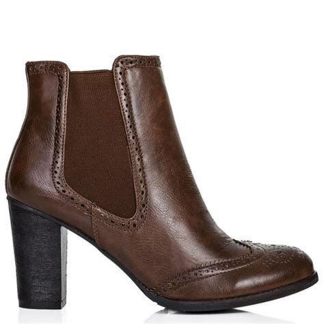buy moscow brogue western chelsea ankle boots leather