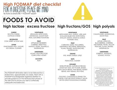 the low fodmap diet step by step a personalized plan to relieve the symptoms of ibs and other digestive disorders with more than 130 deliciously satisfying recipes books best 25 high fodmap foods ideas on