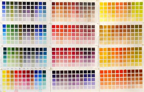 infinite color charting my palette bouc artist